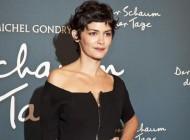 Audrey Tautou in Prada alla première del film 'L'écume des jours'