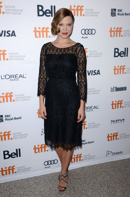 2013 TORONTO INTERNATIONAL FILM FESTIVAL - BLUE IS THE WARMEST COLOR PHOTO CALL - BY LIONEL HAHN