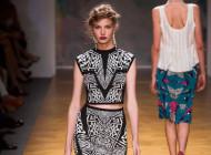 "Tendenza "" Crop Top "" dalle passerelle della NY Fashion Week"