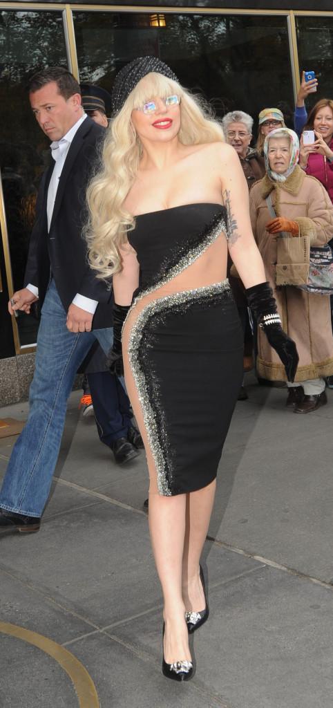 Celebrity Sightings In New York - November 15, 2013