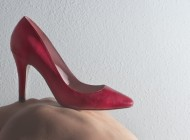 "Cinti e Proud Project :""Wear Red Shoes Against Femicide"""