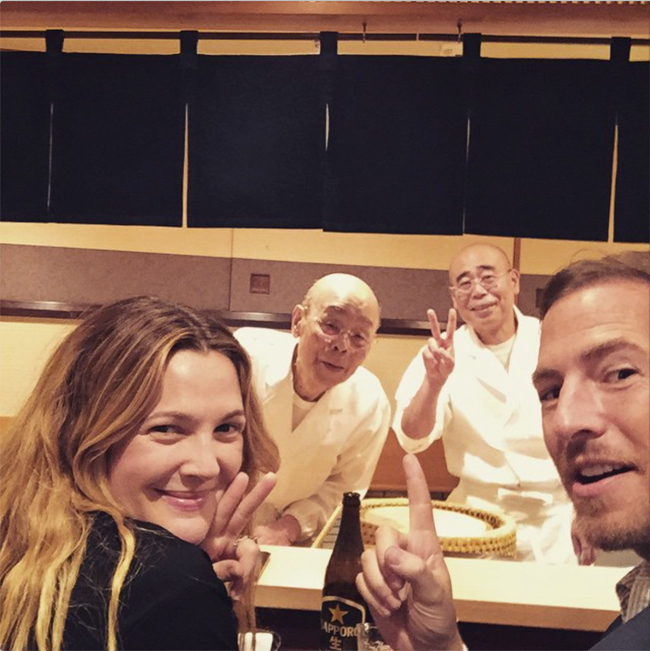 Drew Barrymore Instagram 2015