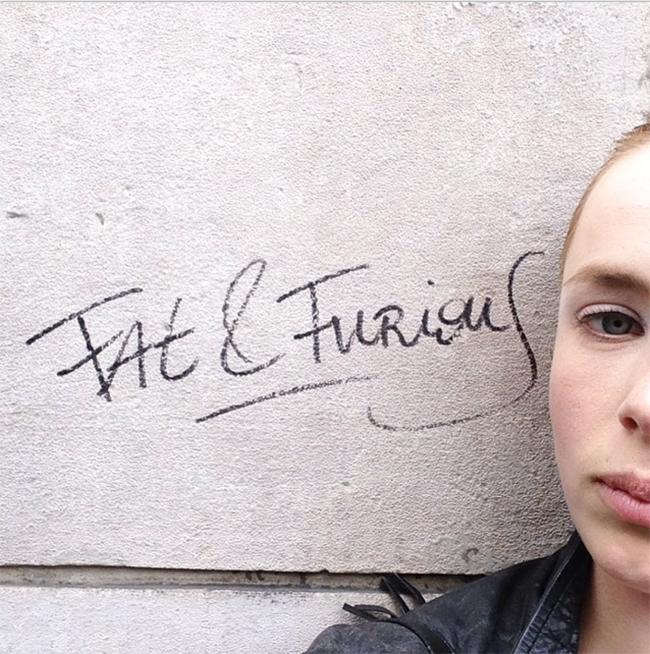 Edie Campbell Instagram 2015