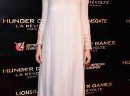 Jennifer Lawrence in Dior for Hunger Games Premiere