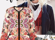 How to wear printed coat SS 2016