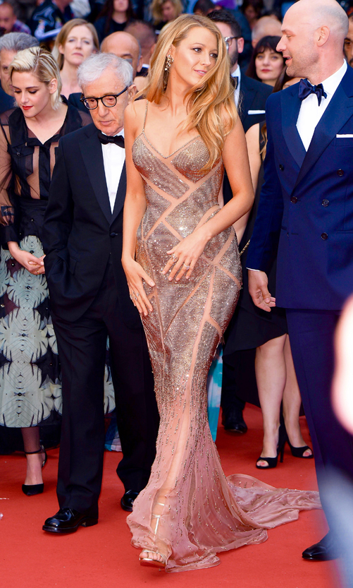 Blake Lively, Woody Allen and Kristen Stewart attend to opening ceremony for the 69th Film Festival in Cannes, France Pictured: Blake Lively Ref: SPL1280134 110516 Picture by: Splash News Splash News and Pictures Los Angeles: 310-821-2666 New York: 212-619-2666 London: 870-934-2666 photodesk@splashnews.com