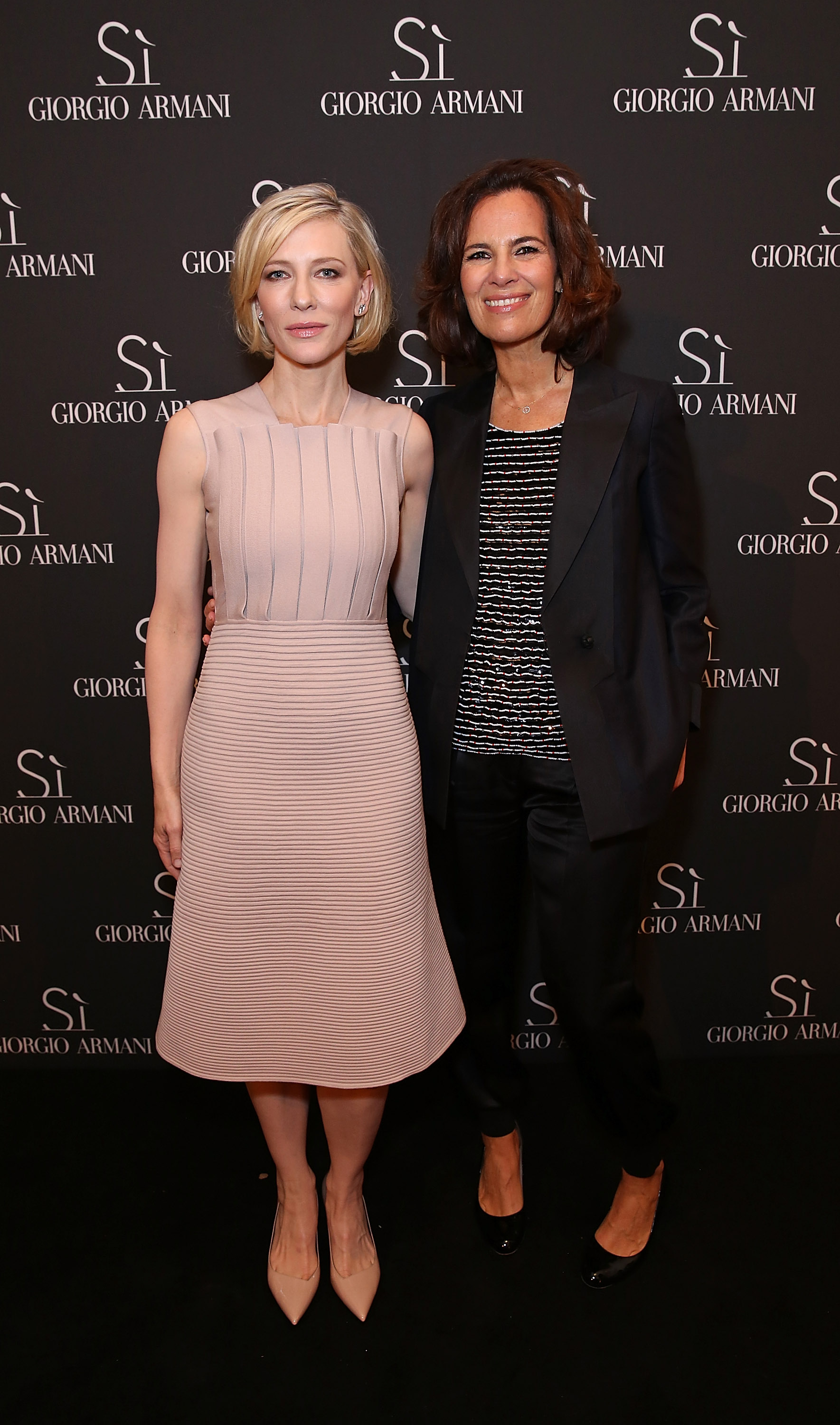 Attends Giorgio Armani Parfums Si Gathering Day on May 24, 2016 in London, England.