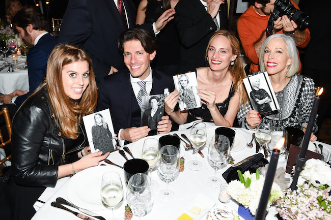 Princess Beatrice of York, Edgardo Osorio, Lauren Santo Domingo, Linda Fargo