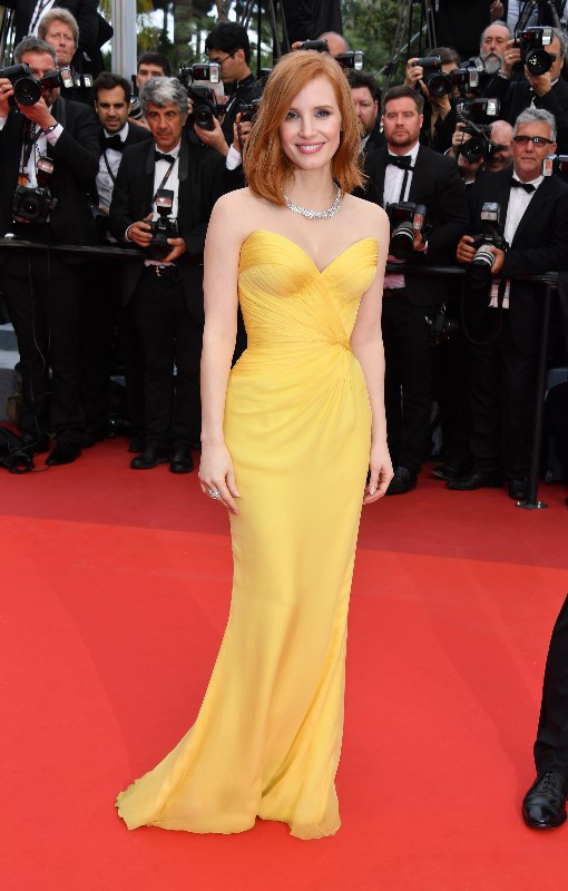 Jessica Chastain Cannes 2016 credit George Pimentel