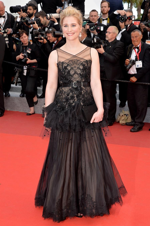Natacha Régnier in Alexis Mabille Cannes 2016