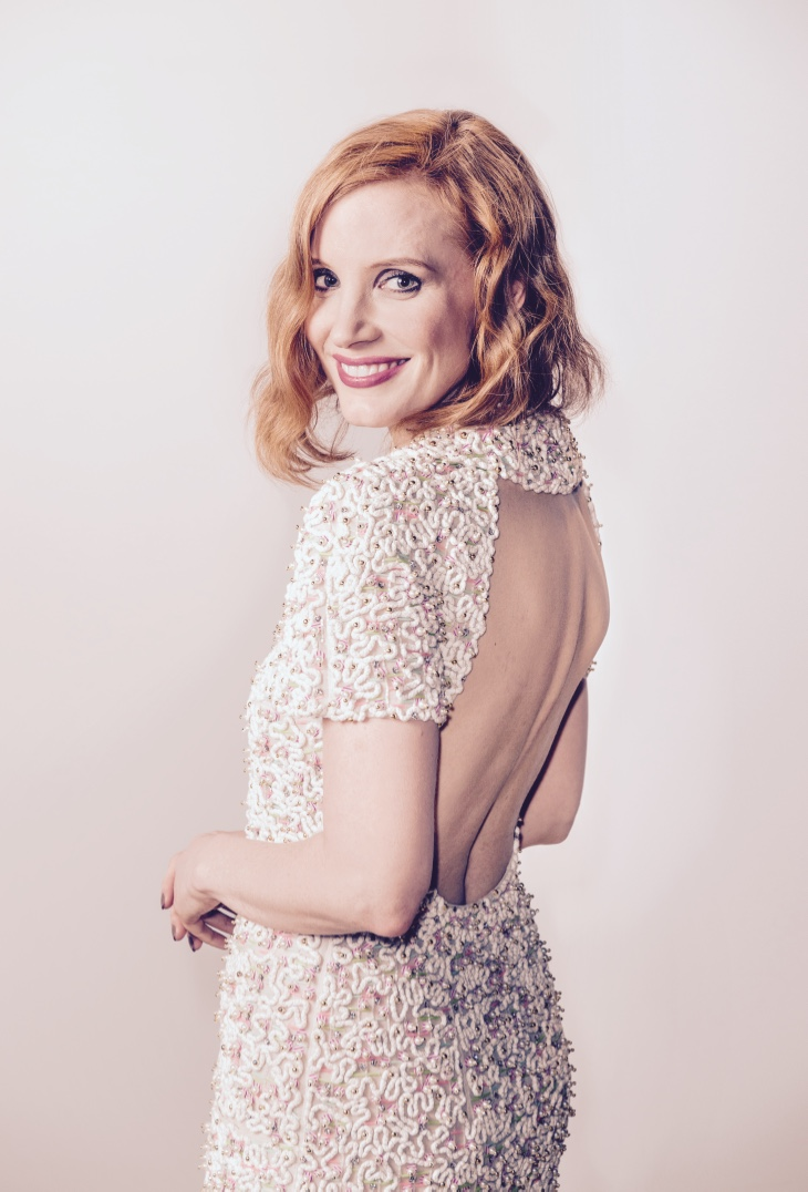 Vanity Fair France and CHANEL Dinner at Tetou Restaurant_May 12th_Jessica Chastain