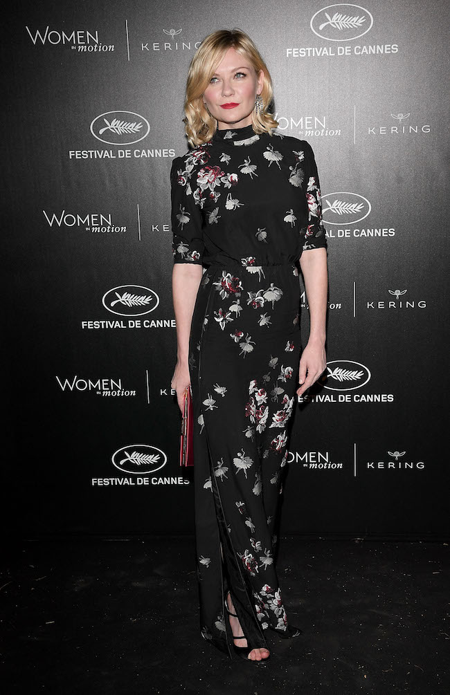 CANNES, FRANCE - MAY 15: Kirsten Dunst attends the Kering And Cannes Film Festival Official Dinner at Place de la Castre on May 15, 2016 in Cannes, France. (Photo by Venturelli/Getty Images for Kering)