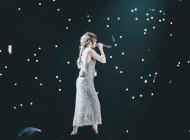 Selena Gomez in Armani for Revival Tour
