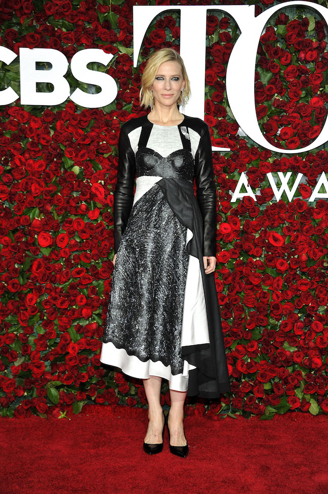 NEW YORK, NY - JUNE 12: Cate Blanchett attends the 70th Annual Tony Awards at the Beacon Theatre on June 12, 2016 in New York City. (Photo by D Dipasupil/FilmMagic)