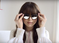 Kristina Bazan for Fendi & Thierry Lasry Collection