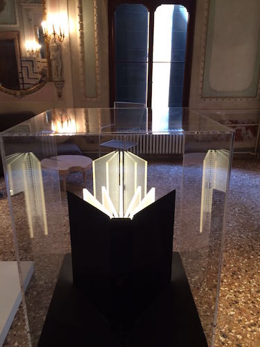 Light Book at Palazzo Michiel