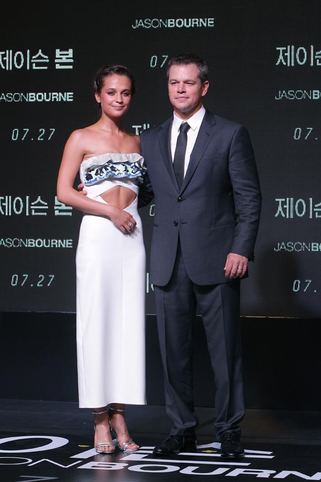 'Jason Bourne' Premiere In Seoul