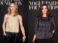 Celebrities in Chanel at Vogue Paris Foundation Gala