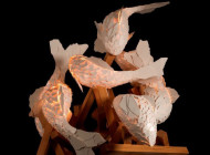 Frank Gehry: Fish Lamps, Gagosian Gallery Rome