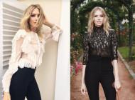 Lena Perminova Haute Looks at Haute Couture