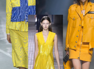 That's the new color of LFW ss17: Yellow