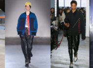 NYFW: the black leather pants are back