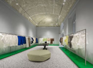 New store of Issey Miyake in Milan