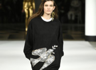 PFW : Alexis Mabille's festive peace message