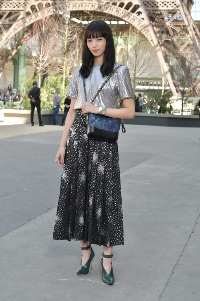 Chanel Outfits On Celebrities Attending Chanel Haute Couture Fall Winter 2017 18