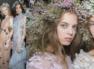 Rodarte S/S 2018 chose James Kaliardos for NARS