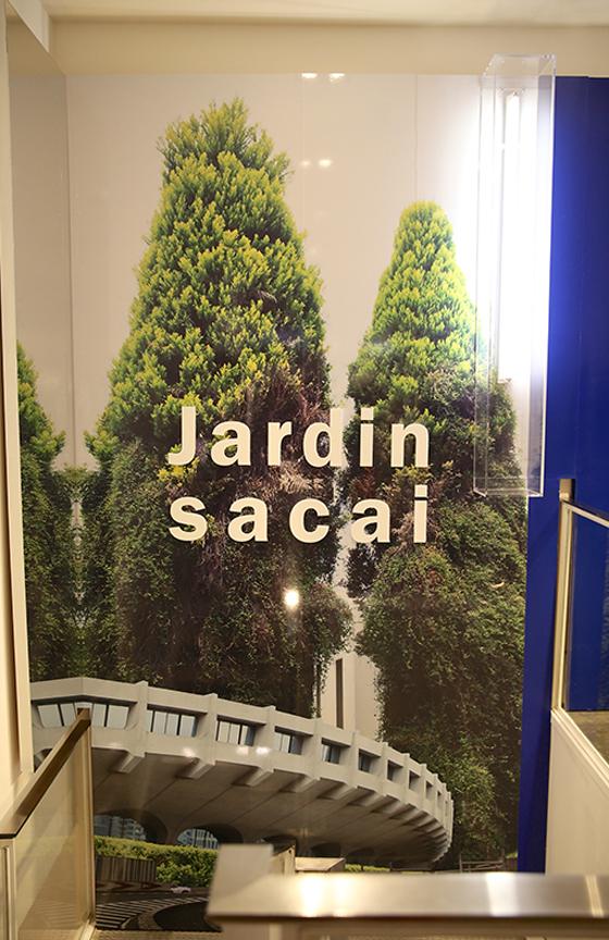 Jardin sacai at Colette | ZOE Magazine