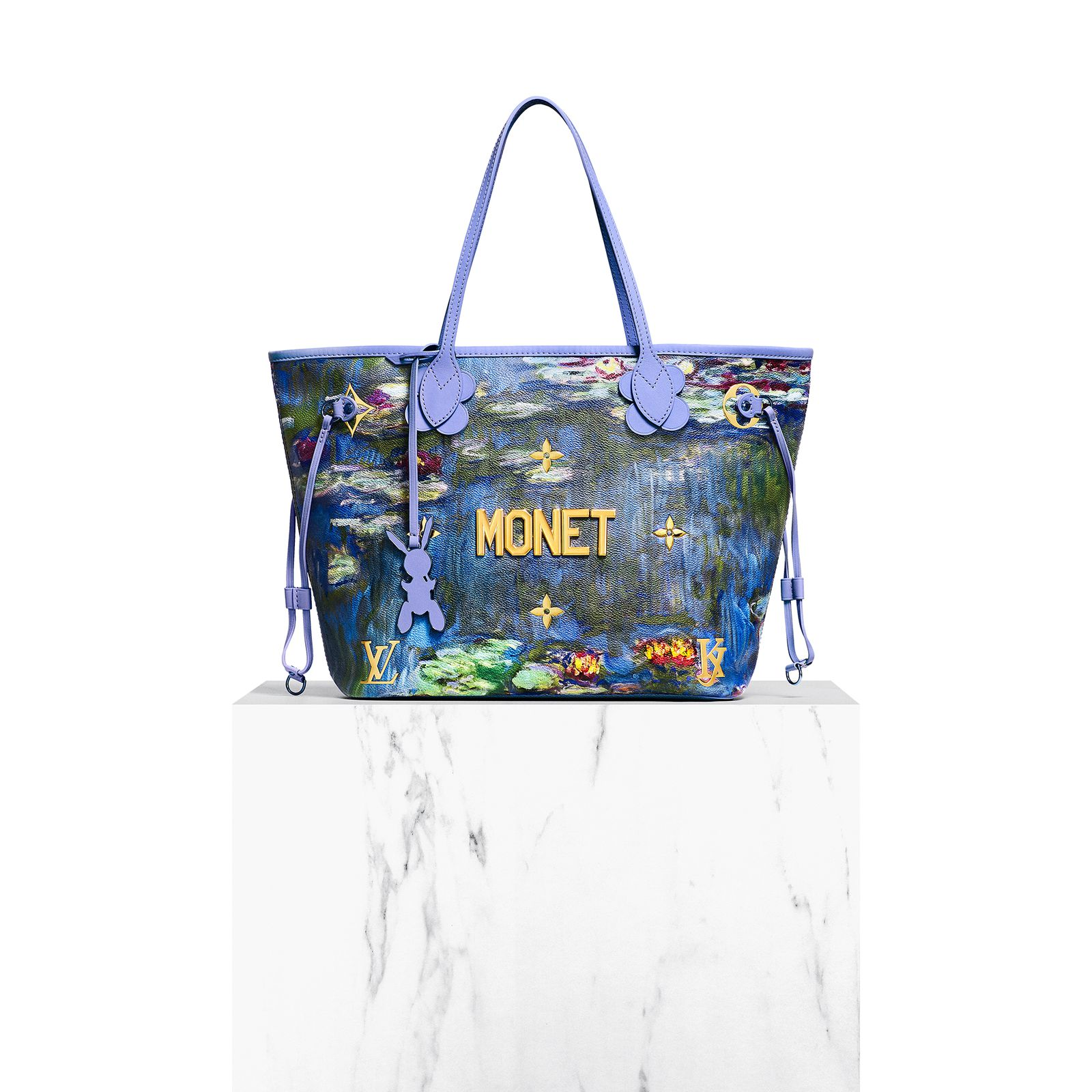 As With The First Chapter Of Masters Collection Jeff Koons Has Modified Famous Louis Vuitton Monogram Motif Its Initials