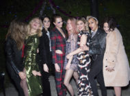 Cara Delevingne attends Burberry Christmas Party