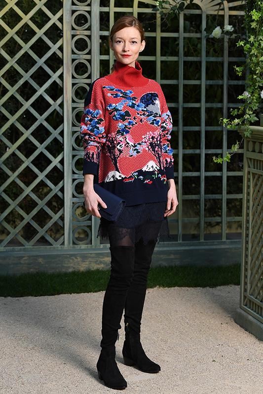 93312a8e258b07 Chanel : Photocall – Paris Fashion Week – Haute Couture Spring Summer 2018