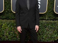 Burberry wear black tie at the 2018 Golden Globe Awards