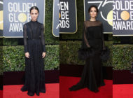 The Best Black dresses in 75th Golden Globes awards