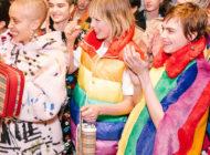 Over the rainbow: Burberry #LFW