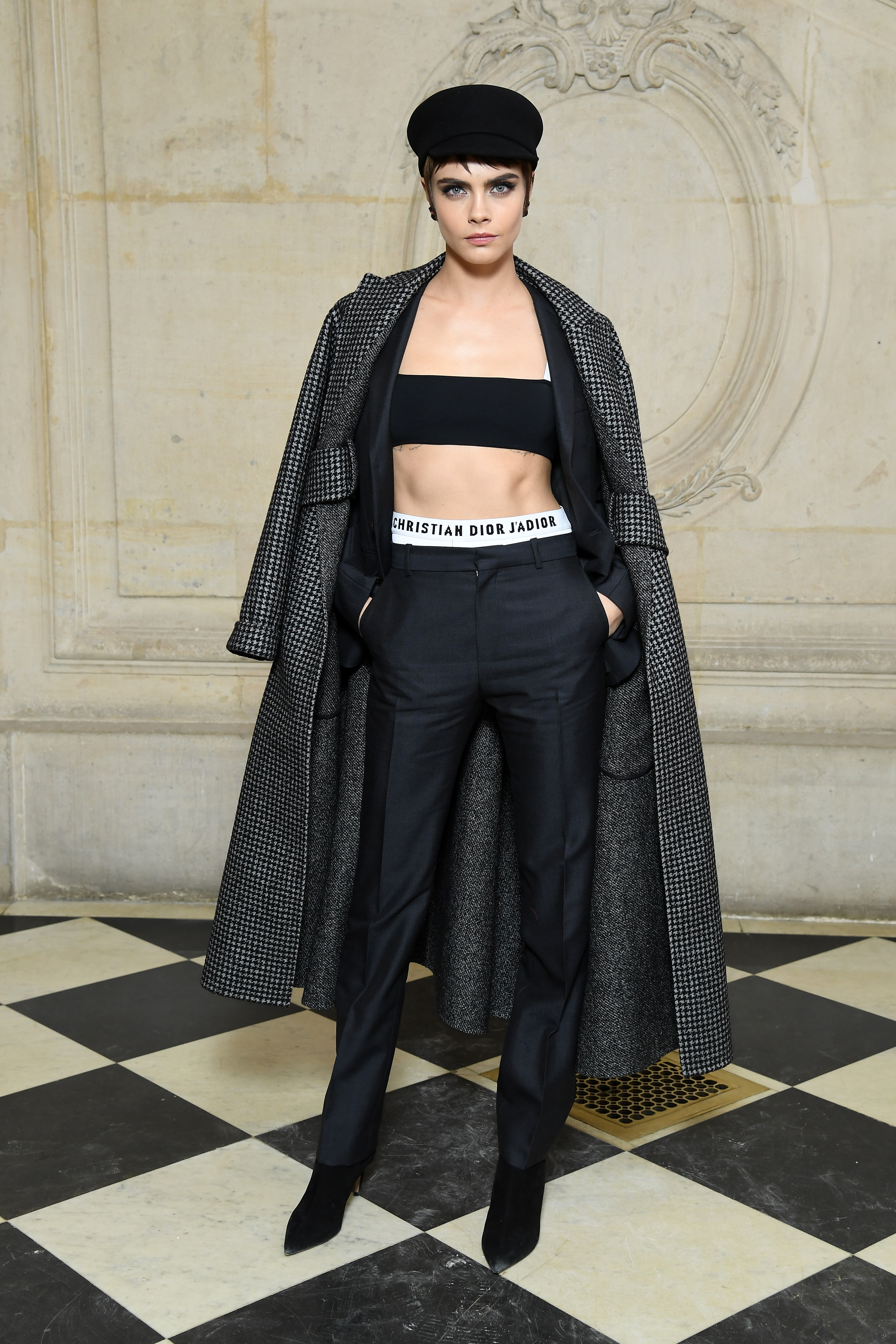 Who was at Dior Autumn Ready-To-Wear 2018-2019 show    18f1809b392e3