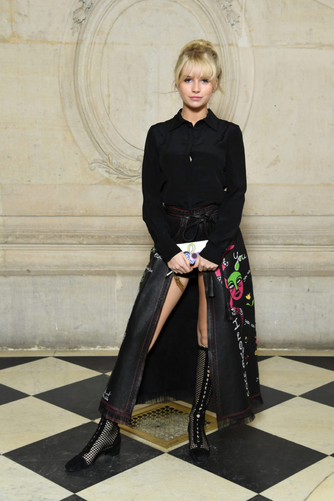 Who Was At Dior Autumn Ready To Wear 2018 2019 Show