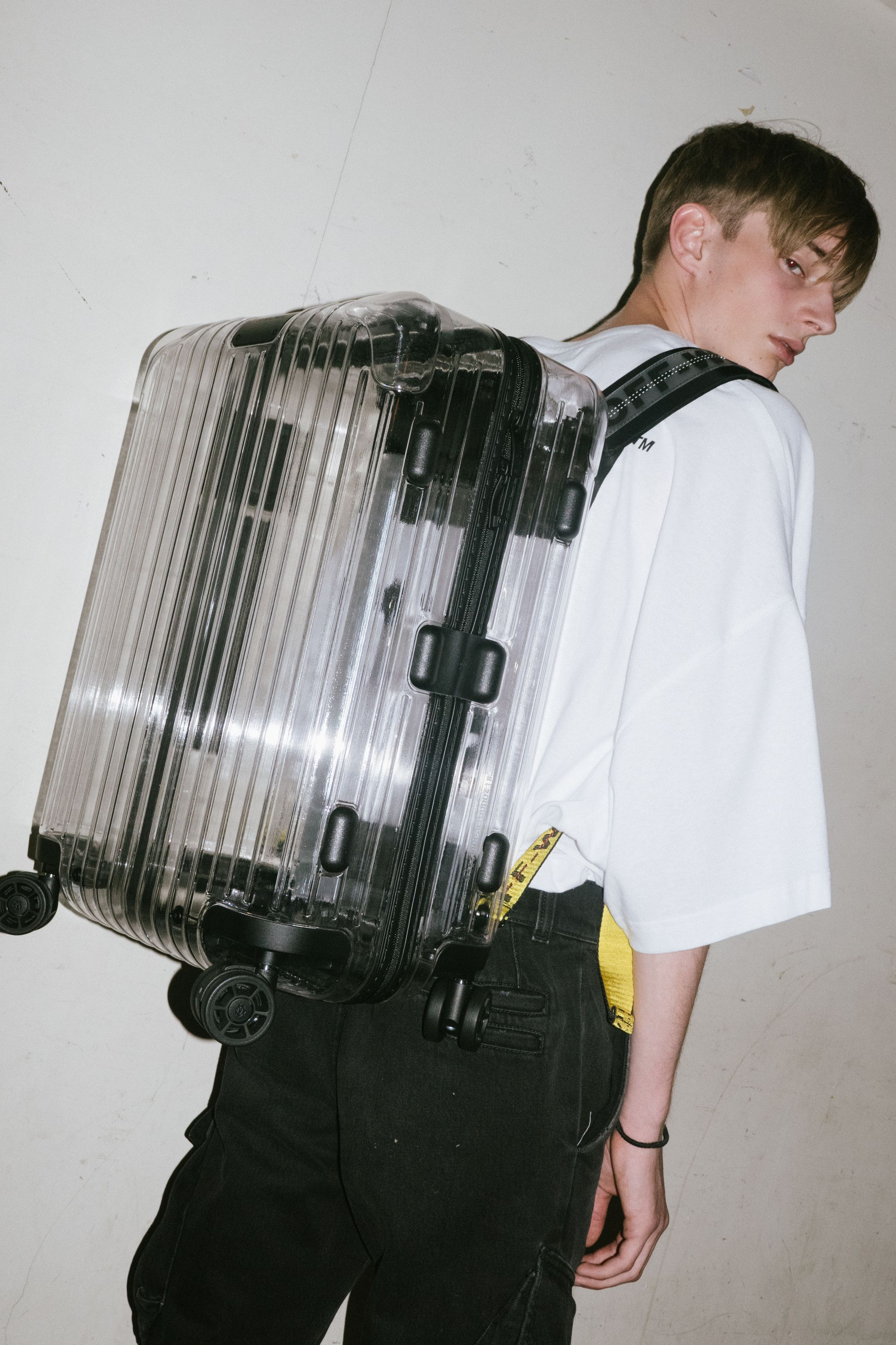 Off White Spring Summer 2017 Women S Collection: In The Backstage Of Off-White X Rimowa