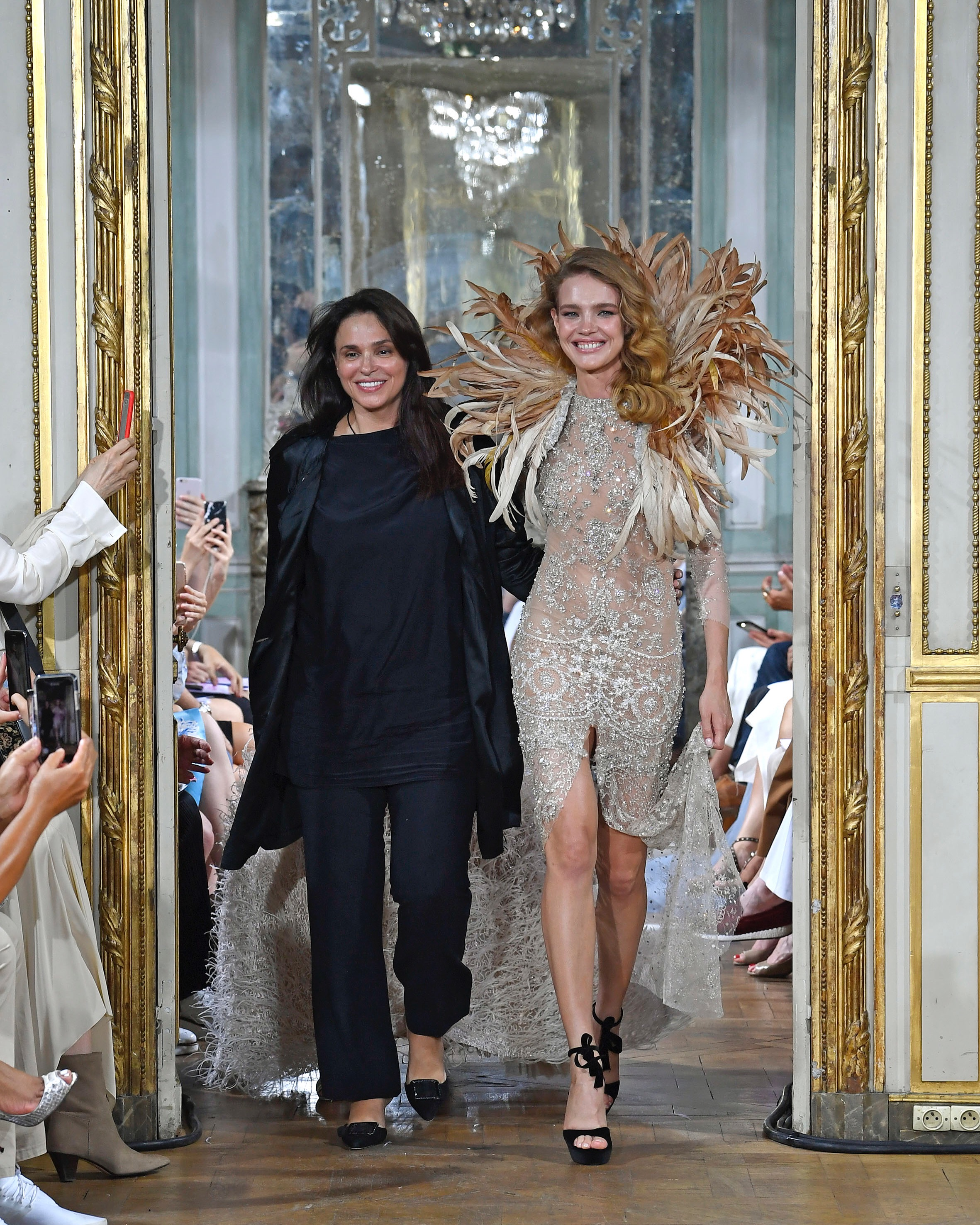 Celia Kritharioti FW18 Couture - a way to reconnect with her mother ... 7e296e7717b