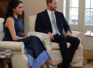 Meghan Markle wears Stuart Weitzman during and official visit to Kirribilli House