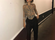 Zendaya Coleman wearing Burberry from SS19 collection