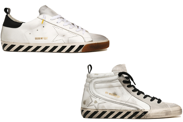 Golden Goose Deluxe and Off-white - ZOE