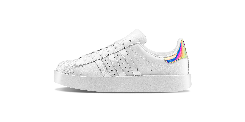 adidas Superstar bianca e rosa AW LAB