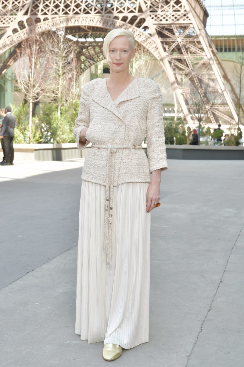 86d94d068f13 Chanel outfits on celebrities attending Chanel Haute Couture Fall-Winter  2017/18 | | ZOE Magazine